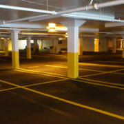 Indoor lot parking on Rusden Place in Notting Hill