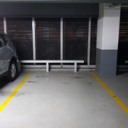 Indoor lot parking on Russell St in Melbourne