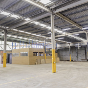 Warehouse storage on Sir Joseph Banks Street in Botany New South Wales