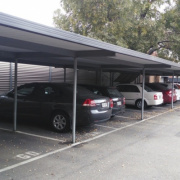 Undercover parking on South Terrace in Adelaide