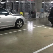 Indoor lot parking on South Village Apartments Kirrawee in Princes Highway