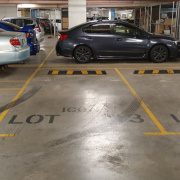 Indoor lot parking on Brodie Spark Drive in Wolli Creek New South Wales 2205