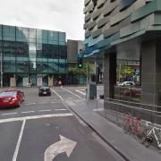 Undercover parking on Spencer St in Melbourne