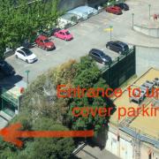Indoor lot parking on Spencer Street in Docklands