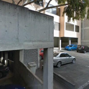 Outdoor lot parking on Stead Street in South Melbourne