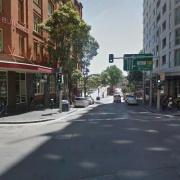 Indoor lot parking on Sussex Street in Sydney Central Business District New South Wales 2000