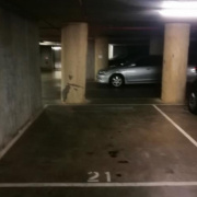 Indoor lot parking on Sutherland street in Melbourne