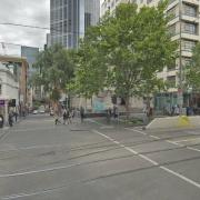 Indoor lot parking on Swanston Street in Melbourne