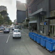 Undercover parking on Swanston Street in Melbourne Victoria 3000