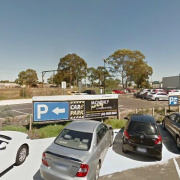 Outdoor lot parking on Thomas St in Dandenong