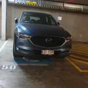 Undercover parking on Trinity Street in Fortitude Valley