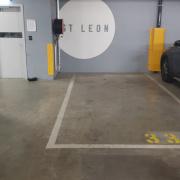 Indoor lot parking on Tumbalong Boulevard in Haymarket