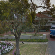 Driveway parking on 29 Viewway in Nedlands