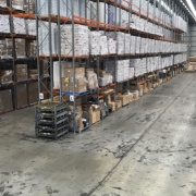 Warehouse storage on Warehouse A in Campbelltown