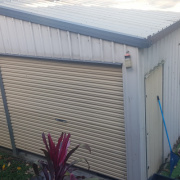 Shed storage on