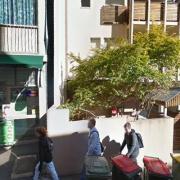Undercover parking on Wickham Terrace in