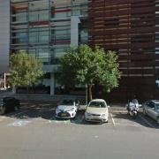 Garage parking on Wyndham Street in Alexandria