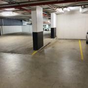 Indoor lot parking on Allen Street in Waterloo