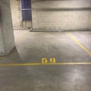 Indoor lot parking on Mitchell Road in Alexandria