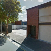 Outdoor lot storage on Gilbert Street in Adelaide
