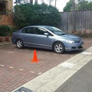 Garage parking on George St in North Strathfield
