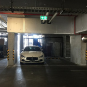 Garage parking on Clarke St in Southbank