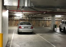 Parking Space in secure residential parking spot. Right next to elevator..jpg