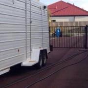 Driveway storage on