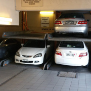 Garage parking on Treacy St in Hurstville