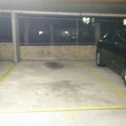 Basement parking on