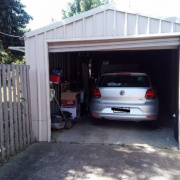Garage storage on Highmont Dr in Belmont