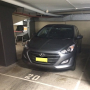 Garage parking on Neridah St in Chatswood