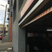 Garage parking on Richmond