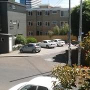 Garage parking on Lennon St in Parkville