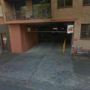 Garage parking on Goodlet Street in Surry Hills