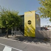 Outdoor lot parking on Sturt Street in Adelaide