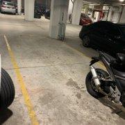 Garage parking on McElhone St in Woolloomooloo
