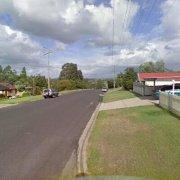 Driveway storage on Flinders Street in East Maitland