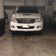 Indoor lot parking on Herbert St in St Leonards