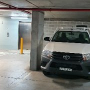 Undercover parking on Berry St in North Sydney