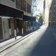 Basement parking on Goulburn Street in Surry Hills