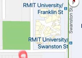 Car park space next to Melbourne Central station..jpg