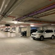 Indoor lot parking on Brushbox Street in Sydney Olympic Park