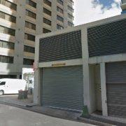 Indoor lot parking on Church St in Parramatta