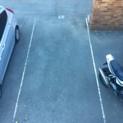 Outdoor lot parking on Gallimore Avenue in Balmain East