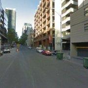 Garage parking on A'Beckett St in Carlton