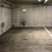 Indoor lot parking on A'Beckett Street in Melbourne