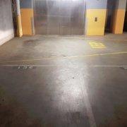Indoor lot parking on Abeckett St in Melbourne