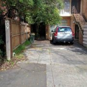 Driveway storage on Alexandra Avenue in South Yarra