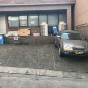 Outside parking on Atchison Street in St Leonards